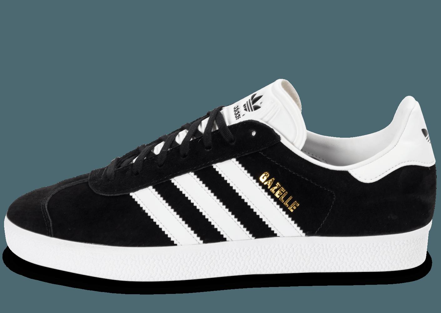 adidas gazelle noir et blanc,Chaussure Gazelle noir BB5476