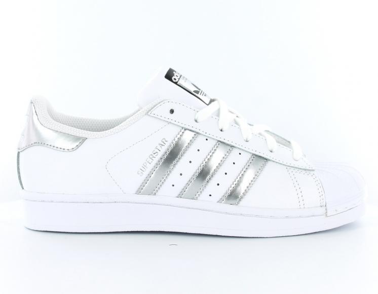 chaussure adidas argenté